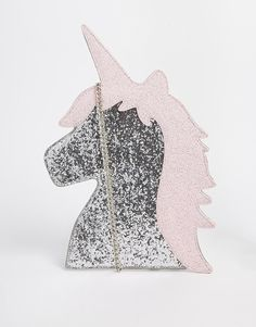 Glitter unicorn purse