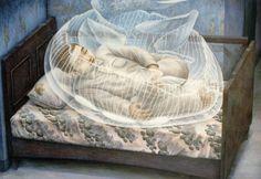 Reminds me of the Air Chrysalis in Murakami's 1Q84 | Tetsuya Ishida's Surreal Paintings