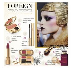 """""""My Favorite Foreign Beauty Product"""" by alves-nogueira ❤ liked on Polyvore featuring beauty, Dolce&Gabbana, H&M, Galliano, BeautyTrend, Beauty, ForeignBeauty and polyvoreeditorial"""