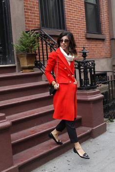 Goody two-shoes [[MORE]] Jacket: St. John (similar style here); Sweater: White House Black Market; Pants: St. John (similar style here); Shoes: Louise Et Cie; Sunglasses: YSL; Bag: Chanel; Bracelet: Miansai Fashion By This Time Tomorrow