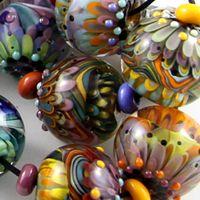 Magma Beads Mixed Bag Handmade Lampwork Beads | eBay