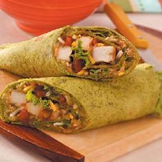 Guacamole Chicken Wraps Recipe: #guacbowl