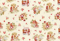 HALF YARD Lecien Little Heroines Collection  by fabricsupply