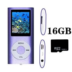 Lonve Pink 16GB MP4/MP3 Player Music 1.81'' Screen MP4 Music/Audio/Media Player with FM Radio