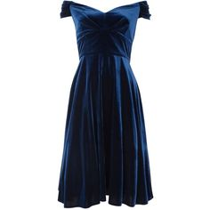 Ariella Amelie Velvet Dress, Navy ($68) ❤ liked on Polyvore featuring dresses, short dresses, vestidos, blue, navy maxi dress, short sleeve dress, pleated maxi dress and blue maxi dress