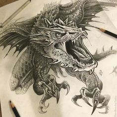 Sketch archive for tattoos. - Sketch archive for tattoos. the archiv. - Sketch archive for tattoos. – Sketch archive for tattoos. the archive … – Sketch - Dragon Tattoos For Men, Dragon Sleeve Tattoos, Japanese Dragon Tattoos, Dragon Tattoo Designs, Tattoos For Guys, 3d Dragon Tattoo, Badass Tattoos, Smaug Tattoo, Dragons Tattoo