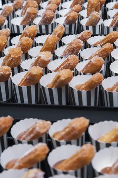 #peterrowland #PRCstyle #dessert #sweet #food #catering #churros #packaging