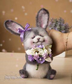 Купить Зайка - серый, зайка, зайка девочка, зайчик, зайка игрушка, зайка в подарок, зайцы