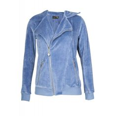 BIKER VELOUR JACKET Denim Button Up, Button Up Shirts, Velour Jackets, Biker, Collection, Tops, Fashion, Moda, Fashion Styles