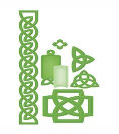 Spellbinders Shapeabilities Die Celtic Accents