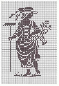 monochromatic Cross Stitch
