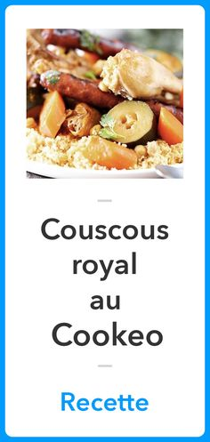 Recette Couscous Royal au Cookeo, Recette Cookeo Batch Cooking, Mojito, Herbal Remedies, Potato Salad, Entrees, Herbalism, Buffet, Food And Drink, Menu