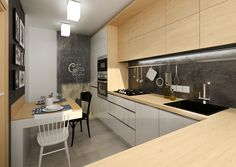4 bedroom terraced house for sale in Ashburnham Grove, Greenwich, London - Rightmove Modern Kitchen Design, Kitchen Cabinets, Table, House, Furniture, Home Decor, Houses, Decoration Home, Home
