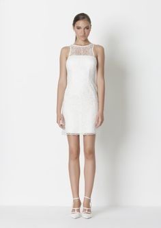 Short Sexy Cocktail Dress with satin lace Excellent for informal wedding ,semi formal, dinerenblanc