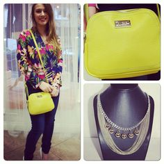 A handbag can bring a pop of colour Color Pop, Colour, Bring It On, Handbags, My Style, Fashion, Color, Moda, Totes