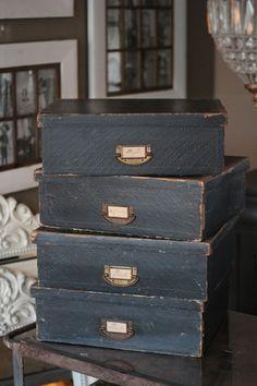 French Vintage Box