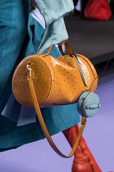 Multiple Bags are huge in Spring Summer 2018!