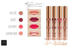 """MAKEUP FOR TS4 KYLIE COSMETICS """"KOKO KOLLECTION"""" by MAC (HQ COMPATIBLE!)"""