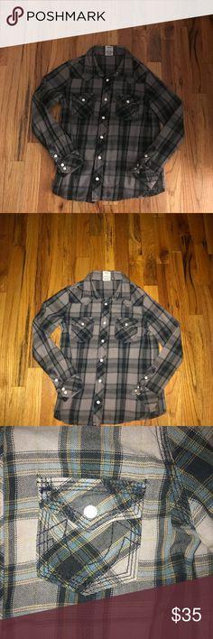 True religion button down shirt True religion button down boy shirt True Religion Shirts & Tops Button Down Shirts