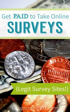 Make a little extra money from home by taking online surveys! List of the best legitimate survey companies!