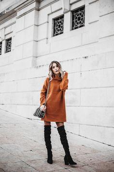 Mexiquer: Turtleneck Turtleneck, Stuart Weitzman, Sweaters, How To Wear, Outfits, Dresses, Fashion, Vestidos, Moda