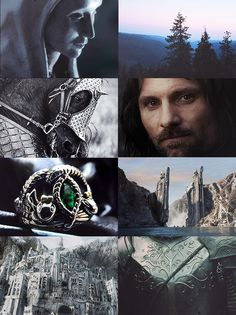 lord of the rings aesthetics : the crownless again shall be king
