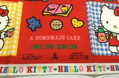 Hello Kitty Accessories, Homemade Cakes, Sanrio, You And I, Japan, You And Me, Japanese, Homemade Desserts