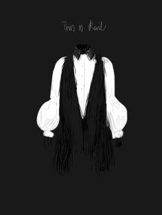 Karl Lagerfeld.   #fashion #illustration Open Toe http://opentoemag.wordpress.com/2012/12/28/this-is-karl/