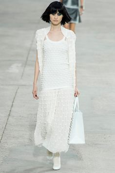 Chanel 2014 RTW Spring Model: Sui He Elegant but still has an ease to it