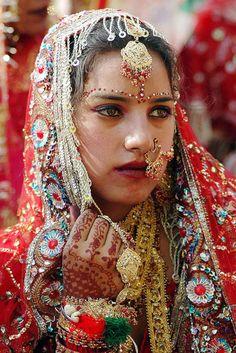 Bride in India