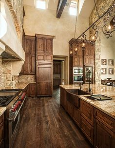 Donna's Blog: Interior Stone Accent Walls, Vining Design Associates