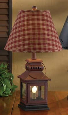 Like the lamp shade more than I thought I would.Country Lamps and Decorative Lighting Solutions for Primitive Homes Primitive Lamps, Country Primitive, Primitive Bedroom, Primitive Antiques, Primitive Bathrooms, Country Lamps, Country Decor, Bedroom Country, Country Style