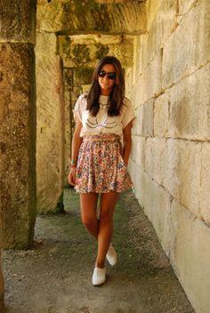Lovelypepa floral skirt