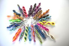 interesting color combinations for new patterns #boondoggle