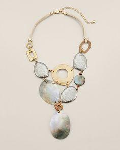 LOVE THIS! Chico's Kasha Bib Necklace #chicos