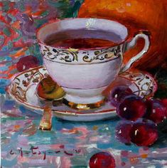 Tea Cup Art, Sunflower Vase, Floral Sofa, Peach Peonies, Autumn Lights, Roman Art, Pink Petals, Flower Oil, Mugs