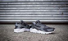 0adb55ff1c9 NIKE AIR HUARACHE RUN PREMIUM METALLIC HEMATITE   COOL GREY LIMITED EDITION   Nike  RunningShoes