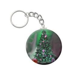 Christmas tree keychains