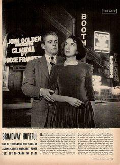 1941 Broadway Hopeful Original Print Ad