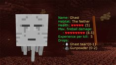 I got: Ghast! Which Minecraft mob are you? 2