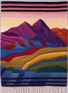 Picture 120 « Marion Cragg « Tapestry Artists of Puget Sound Inkle Weaving, Inkle Loom, Weaving Art, Tapestry Weaving, Hand Weaving, Weaving Textiles, Weaving Patterns, Contemporary Tapestries, Peg Loom