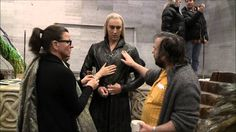 Thranduil DOS Behind the Scenes. Lee Pace is lovely and Graham Mactavish mocks the hell out of Thranduil.