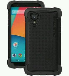 Ballistic-TX1273-A06C-LG-Nexus-5-Tough-Jacket-Maxx-Case-with-Holster-Clip-Bl