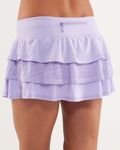 Lululemon Run: Nothing to Hide in Lilac.  Have matching longsleeved (with lacey inserts) SPF top as well.  Also CRB in Lilac High Noon Dot.  One of my favorite running outfits!
