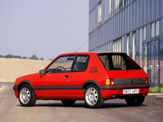 Fotos Peugeot 205 GTI Peugeot 205 Gti, Auto Peugeot, French Classic, Classic Cars, Gt Turbo, Bmw 318, Fast Times, France, Maserati