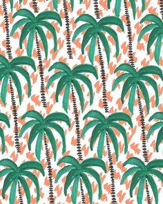 Palm Trees IV. #pattern