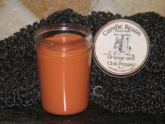 New scent....Orange and Chili Pepper!!