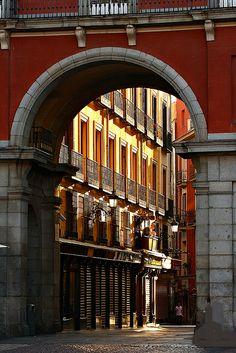 Arco de la calle de la Sal #Madrid