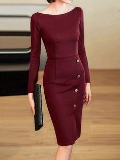 Elegant Dresses Classy, Elegant Dresses For Women, Elegant Outfit, Classy Dress, Casual Dresses, Dresses For Work, Maxi Dresses, Summer Dresses, Skirt Fashion