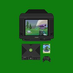 Retro Game Machines (animated)